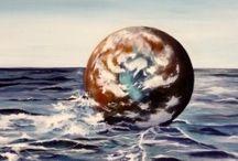 Il mare secondo Violetta / quadri di mare