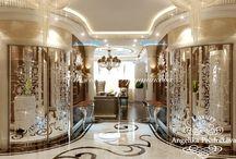 Интерьер квартиры в стиле Ар-Деко на улице Лодочная / Для квартиры на улице Лодочная разработан изысканный дизайн интерьера направлении Ар-Деко. Благодаря большому количеству зеркальных поверхностей в гостиной, спальнях и коридоре много естественного света. Мебель мягких оттенков поддерживает атмосферу домашнего уюта. Интерьер на улице Лодочная получился роскошным и отлично подойдёт для семьи.