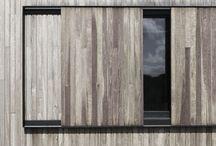 Facciate e pareti in legno