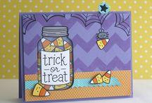 Halloween & Thanksgiving cards