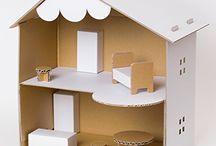 дом картон