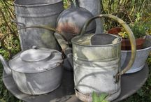 Watering cans / by Sylvia Stottlemyer