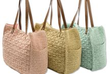 Crochet : Handbags and jewelry