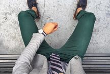 Green stylish outfit