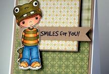 Little Miss Muffet cards I {heart}