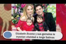 Elizabeth Álvarez y sus gemelos le inyectan vitalidad a Jorge Salinas