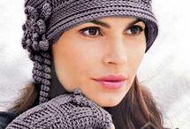 gloves, hats, scarves ...