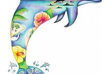 Delfin tatoo
