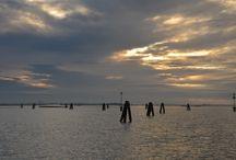 Venise / En péniche sur la lagune