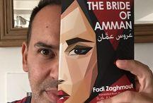 Bookface - The Bride of Amman / Bookface collection for the book - The Bride of Amman  / by Fadi Zaghmout