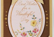 Embroidery / borduren cards