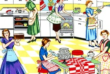 Domestic Goddess / Am I a Domestic goddess? I don't wear heels or pearls in the kitchen! I love to cook but I hate housework! So maybe a little bit yes and a little bit no. / by Margaret Bailey
