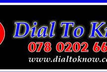 Dail to know / Dail to know
