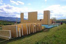 Výstavba - Scandi Haus SK - Nízkoenergetické domy / Realizácie stavieb, nízkoeregetických montovaných domov na kľúč, technológiou SIP, spoločnosťou Scandi Haus SK s.r.o.