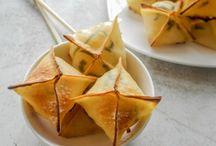 Asian inspired desserts