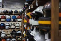 Des casques..