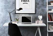 Workspace Decor / Office, home office or any workspace area that inspires