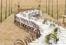 Wedding Table ideas and settings