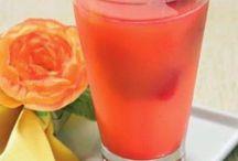 suco e vitamina