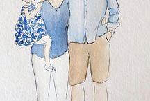 Рисунок семья