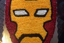 Pasteles / Pastel decorado Iron Man / by Helena Lopez