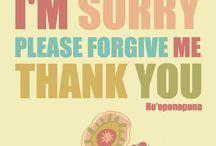 Ho'oponopono / Hawaiiaanse methode van vergeven en genezen