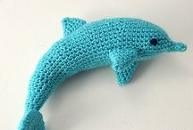 Crochet Dolphins