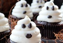 ghost cup cake