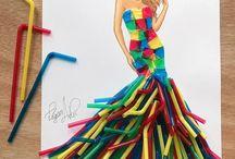 creatieve jurken