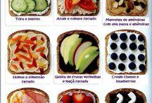 Saudável sempre!!! / Sim, é possível comer bem, sem carnes e gostoso.....