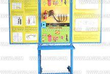 Trainer Sistem Pengapian Platina (Breaker Point, Konvensional) / Trainer Sistem Pengapian Platina (Breaker Point, Konvensional)