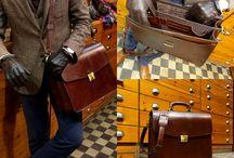 Handmade leather bags & backpacks for men