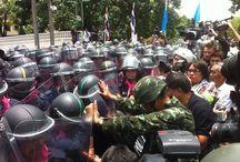 LIVE BLOG: Protesten in Bangkok