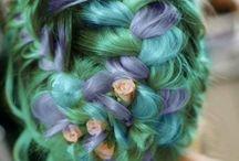 Alternative Hair / Hairstyles found in Internet.