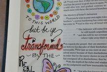 art || Journaling Bible