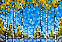 Autumn Season Paintings
