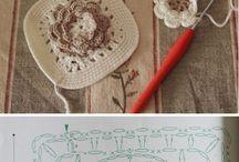 Crochet da fare / crochet patterns, idee