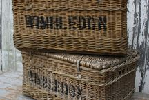 Baskets / I am in love with any kind of basket. :-)