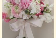 Vintage pretty bridal bouquets