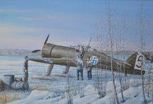 Finnish fighters ww2