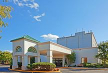 Our Property / Newly Renovated ~  The Award Winning Holiday Inn Express Stony Brook features 143 beautiful appointed guest rooms, including spacious two-and three-room oversized suites. Suites with whirlpool tubs are available, and we are a 100% smoke free hotel.