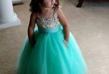kids lovely wedding  dresses