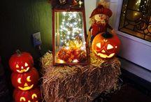 Fall decorating / by Christine Mason