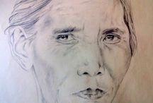 disegni viso