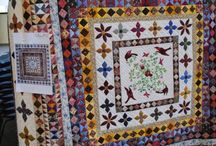 """Rajah Quilt / Quilt made by Convict Ladies on the boat from Great Britain to Australia called the """"Rajah"""""""