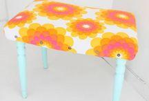 Pimpade möbler