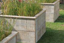 Jardinières et carrés potagers