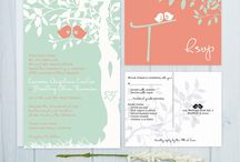 Coral Pink and Mint Green Wedding