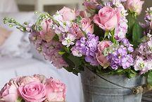 fleurs et bouquets....