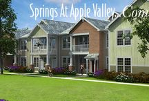 Springs at Apple Valley Apartments / Springs at Apple Valley Apartments is a brand new apartment community under construction in Apple Valley, Minnesota just south of the Twin Cities. Located in the Indpendent school district 196, this gated community will open to residents in early 2016.